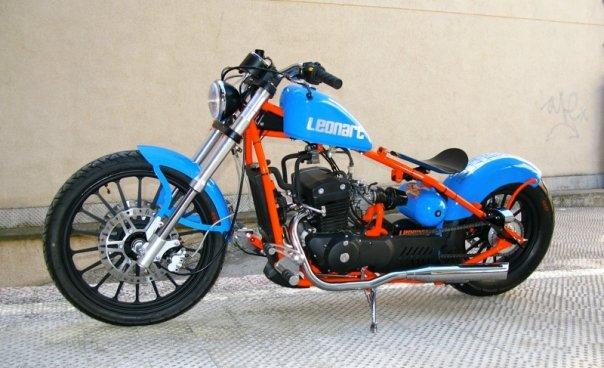 moto custom leonart bobber 125 350. Black Bedroom Furniture Sets. Home Design Ideas