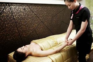 Arms massage