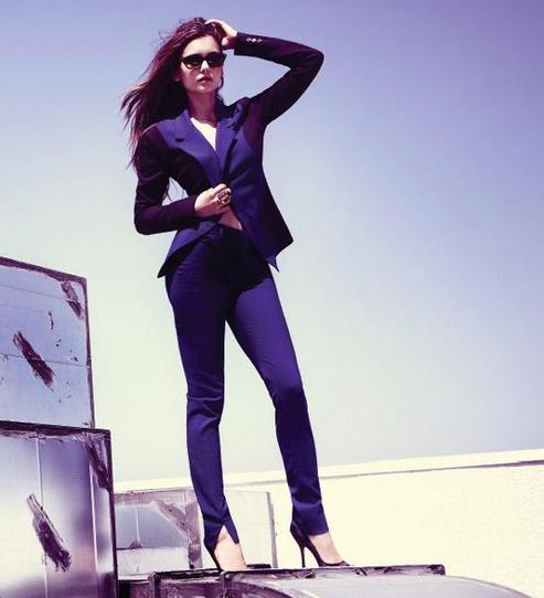 TVD Family French News: Nina en interview pour Fashion Mag