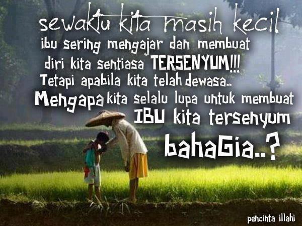 kata-kata hikmah, ibu, senyuman