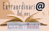 Premio Extraordinario del Mes - Agosto 2015