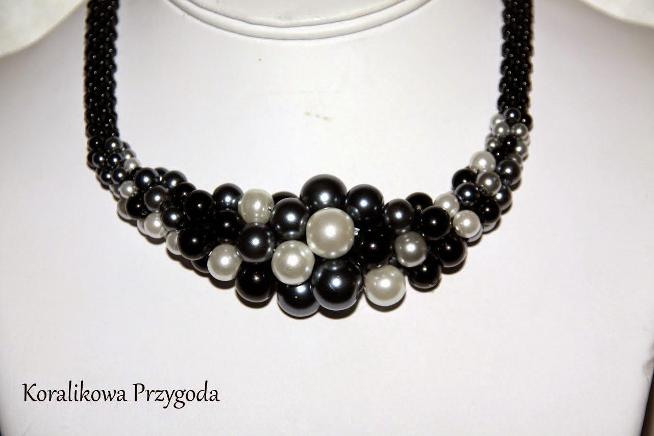 woskowane perły
