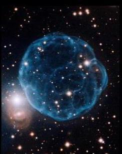 Kronberger 61 : Nebula berbentuk bola