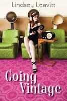 book cover of Going Vintage by Lindsey Leavitt