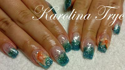 nail art  acrylic  uv gel nails extension