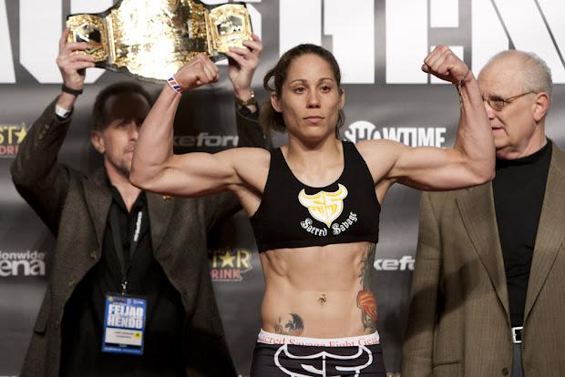 Liz Carmouche será desafiante de Ronda Rousey, o maior nome do UFC entre mulheres (Foto: Divulgação UFC)