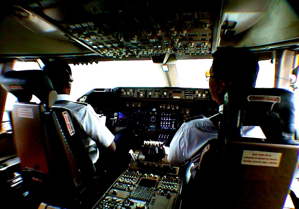Kokpit Pesawat Terbang Komersial