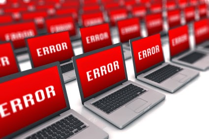 error stats in blogger