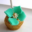 Cake pops fleurs au citron