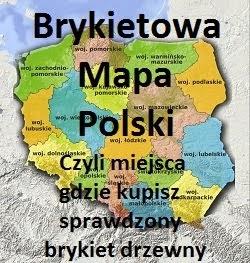 Brykietowa Mapa Polski