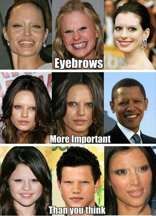 Yes! Eyebrows Does Matter