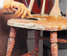 Como decapar muebles de madera aprender hacer bricolaje for Bricolaje casero