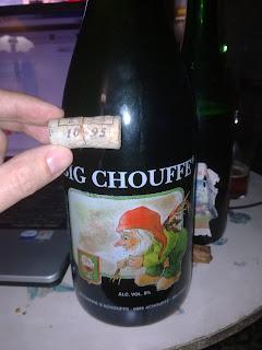 Big Chouffe - embotellada en Octubre de 1995