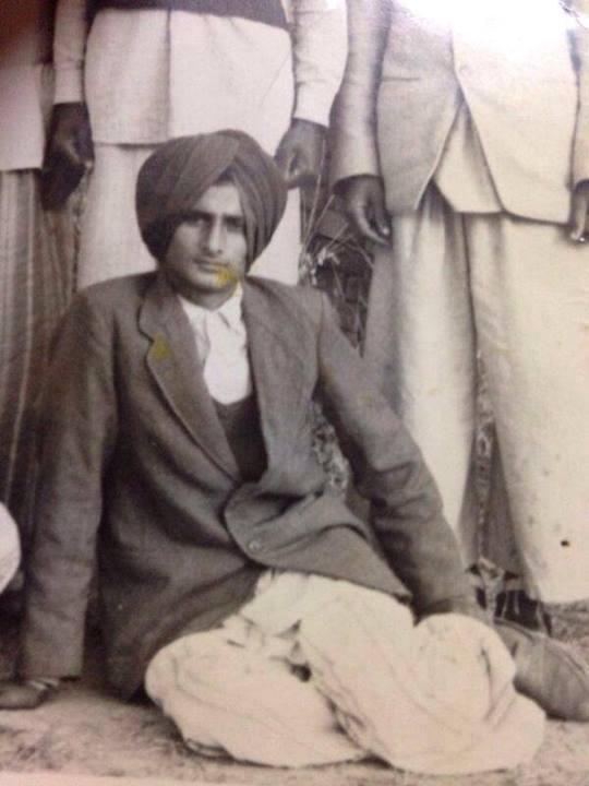 Neeru Bajwa's Father