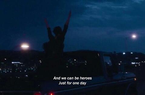 Es ese momento en el que sabes que no eres una triste historia. Estás vivo.