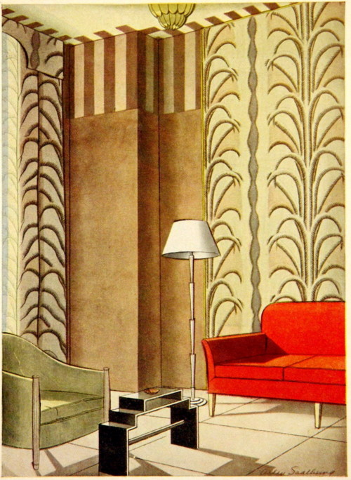 1930s Art Deco Interior Design The art deco period combined