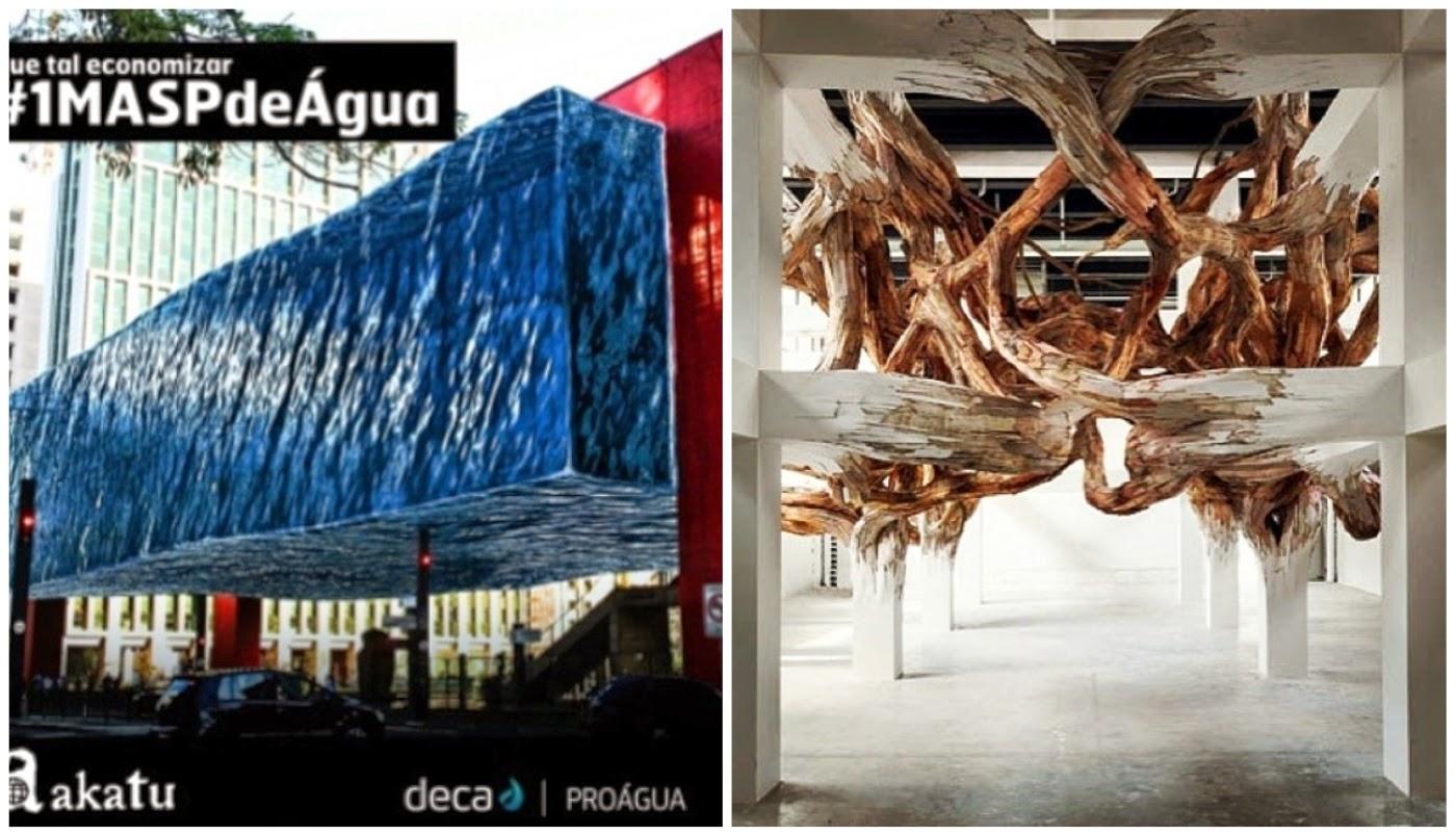 "campanha economia de água @decaoficial e ""Tumor de madeira"" @casavoguebrasil"