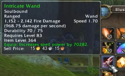 Intricate Wand - the 70 000 spellpower weapon