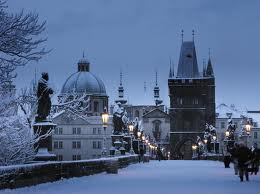 Charles-Bridge-Prague-Europe-winter-holiday