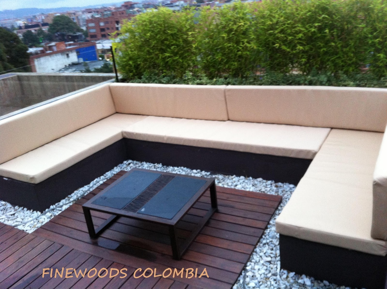 Finewoods colombia muebles exterior - Cojines sillas exterior ...
