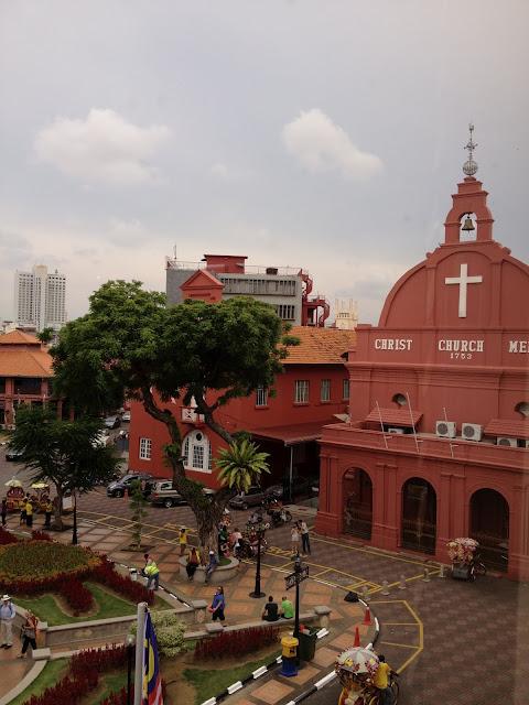plaza principal de Malaca, Malasia