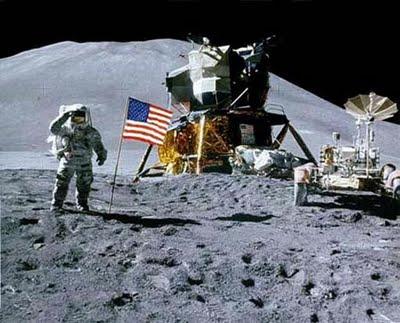 Eagle sobre la Luna