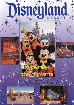 DVD cover showing scenese from Disneyland.