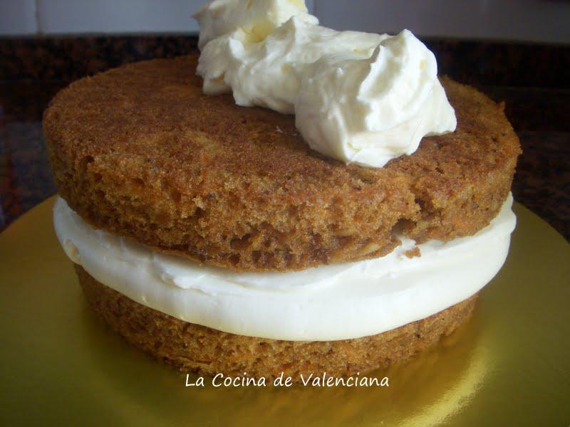 La cocina de valenciana tarta de zanahoria carrot cake for Cocina valenciana