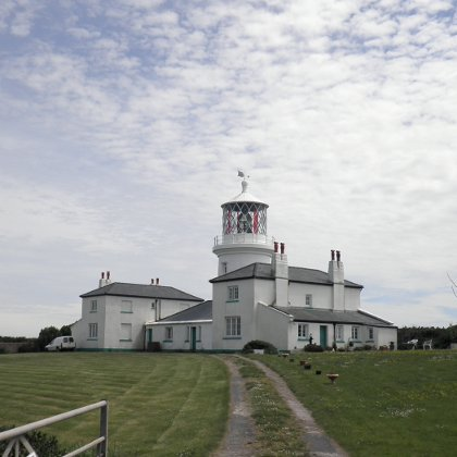 The Lighthouse on Caldey Island