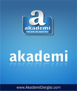 Bu blog, Akademi Dergisi hizmetidir.