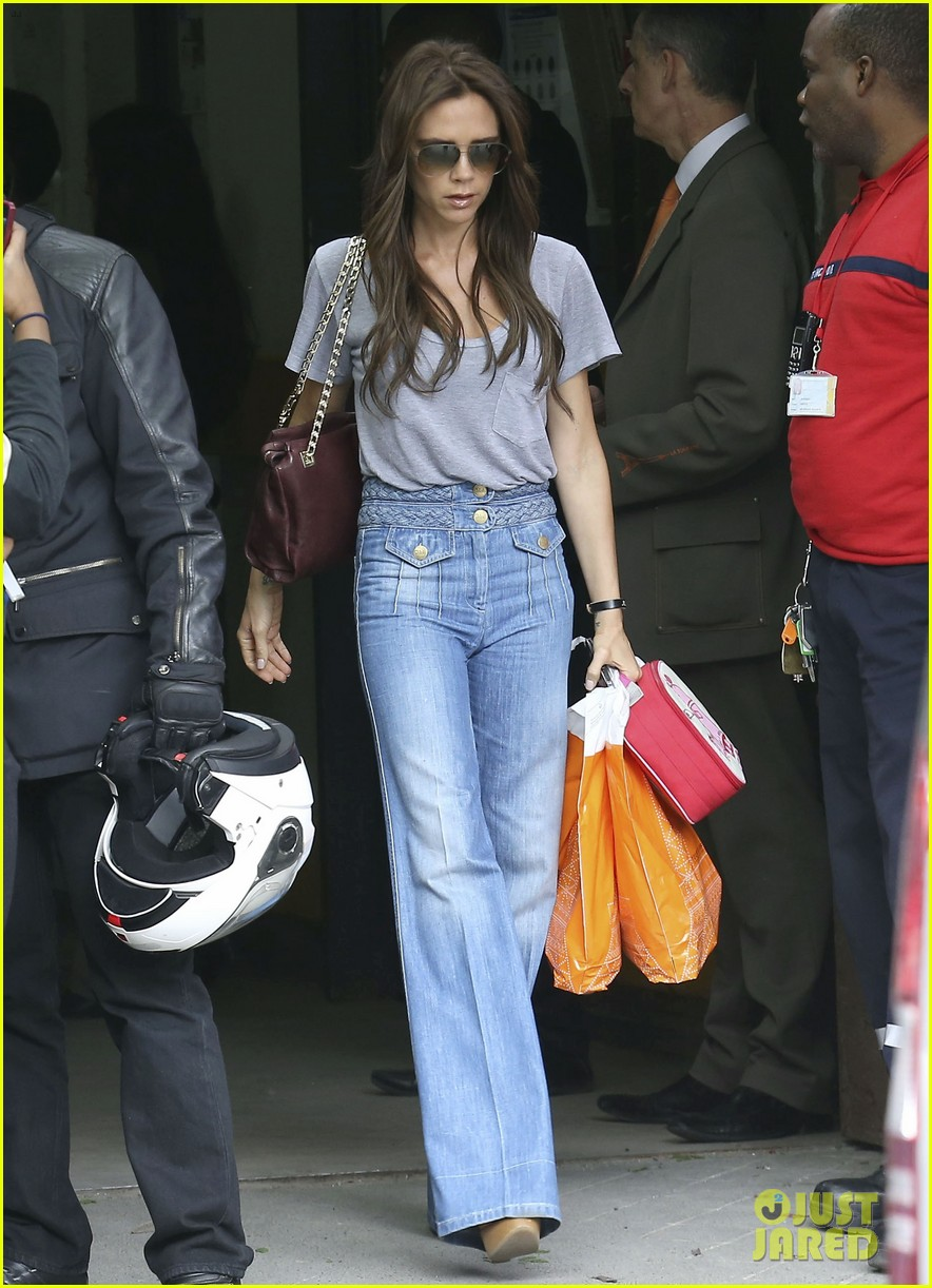W W W Victoria Beckham Recently Her Stable Style