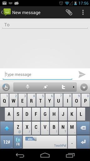 letra ñ en android