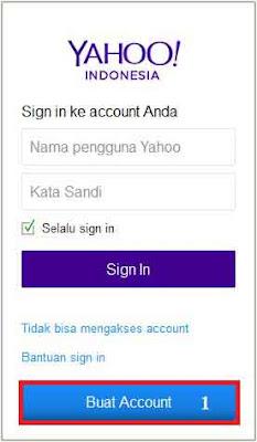 Cara membuat email di yahoo mail
