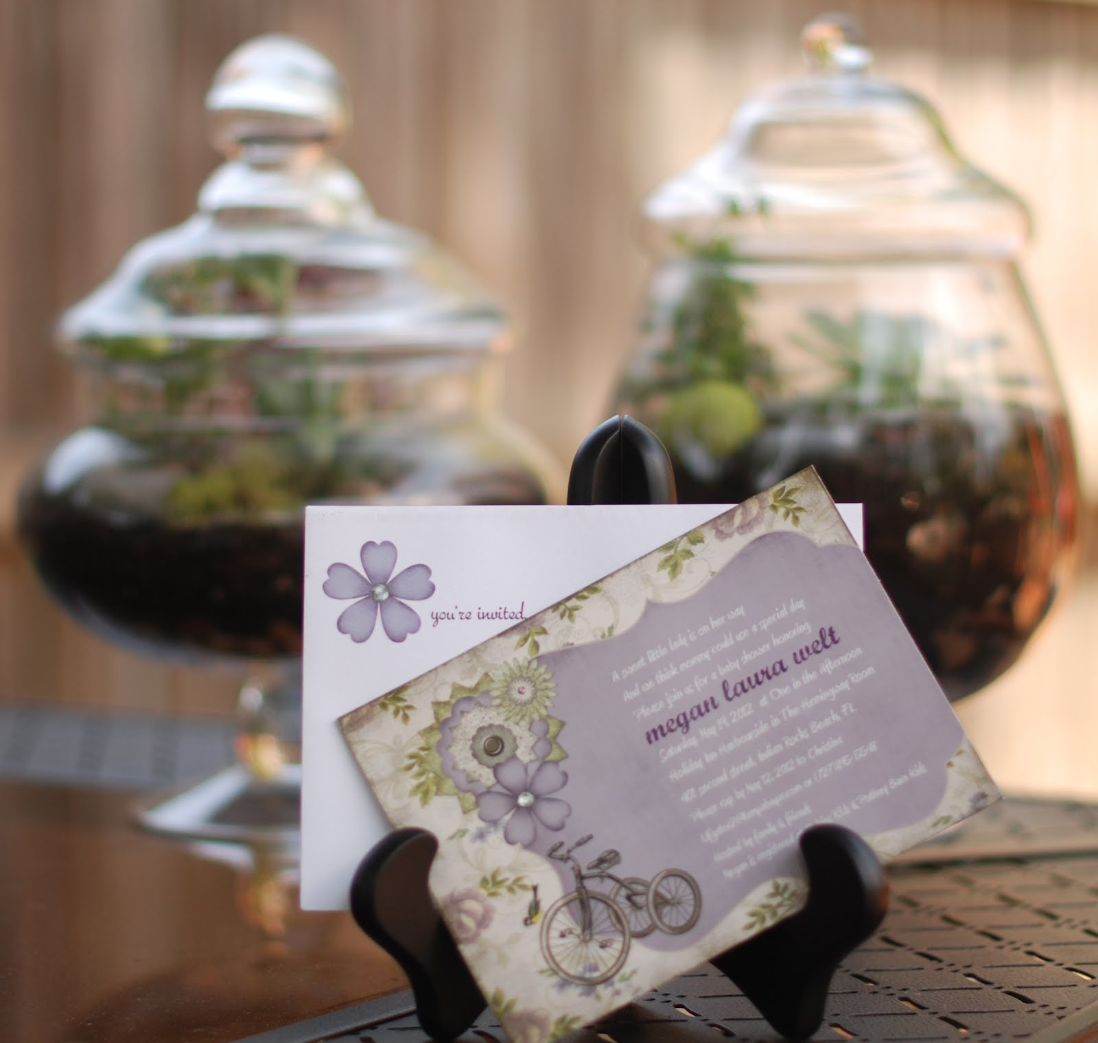 Lavender Baby Shower Decorations Purple Green Baby Shower Guest Post Shes Kinda Crafty