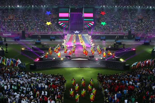 Ceremonia de clausura de la Universiada de Gwangju 2015