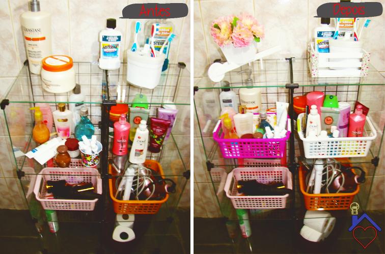 decorar banheiro pequeno gastando pouco: que continuou simples, mas com muito charme e gastando pouco