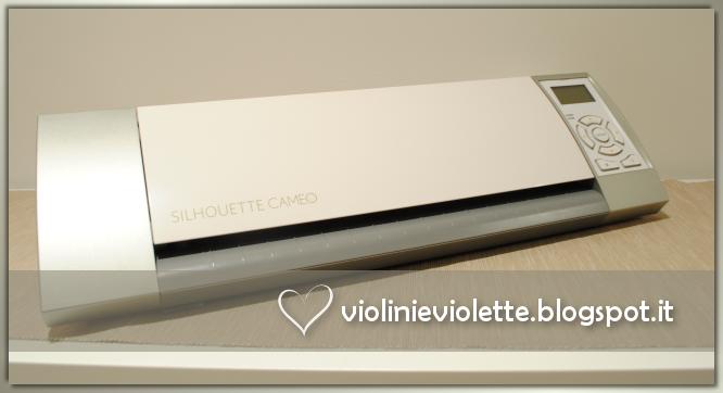 Progetti Per Silhouette Cameo : Violini e violette silhouette cameo mon amour