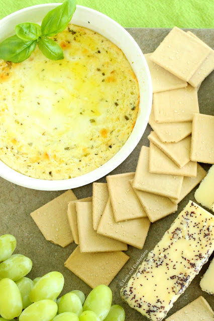 Baked Ricotta Dip from LoveandConfections.com