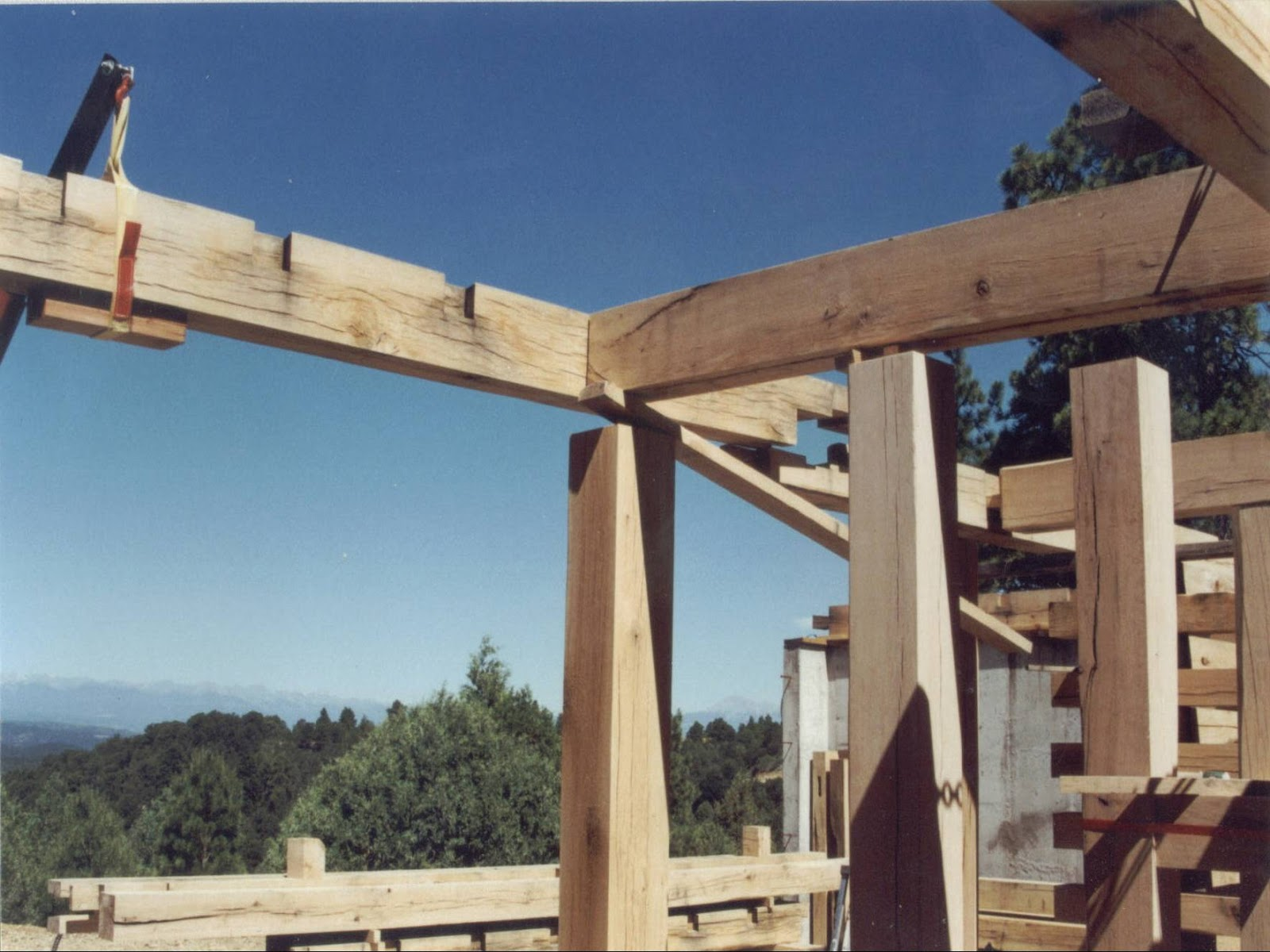 Michael S Timber Framing Chapter 9 Deck Raising
