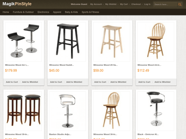 E-commerce Magento Themes