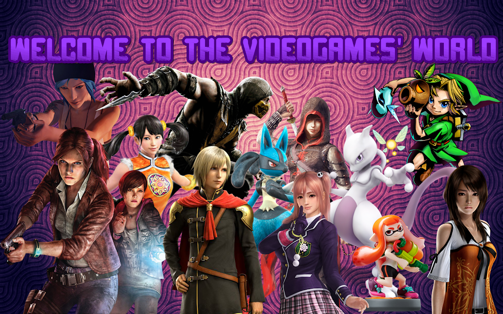 Welcome to the videogames' world