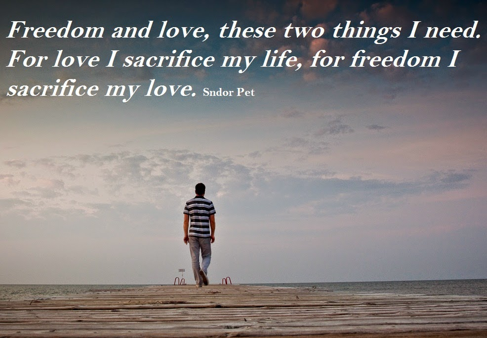 Freedom Vs. Love