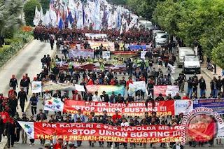 Ada Buruh Demo, Hindari 4 Jalan Utama di Jakarta ini