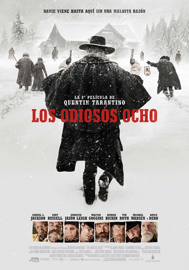 Los Odiosos Ocho (The Hateful Eight) 2015