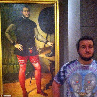Man spots his double in 16th Century Italian painting