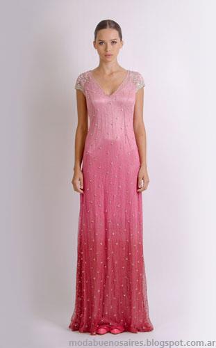 vestidos de fiesta Natalia Antolin invierno 2013