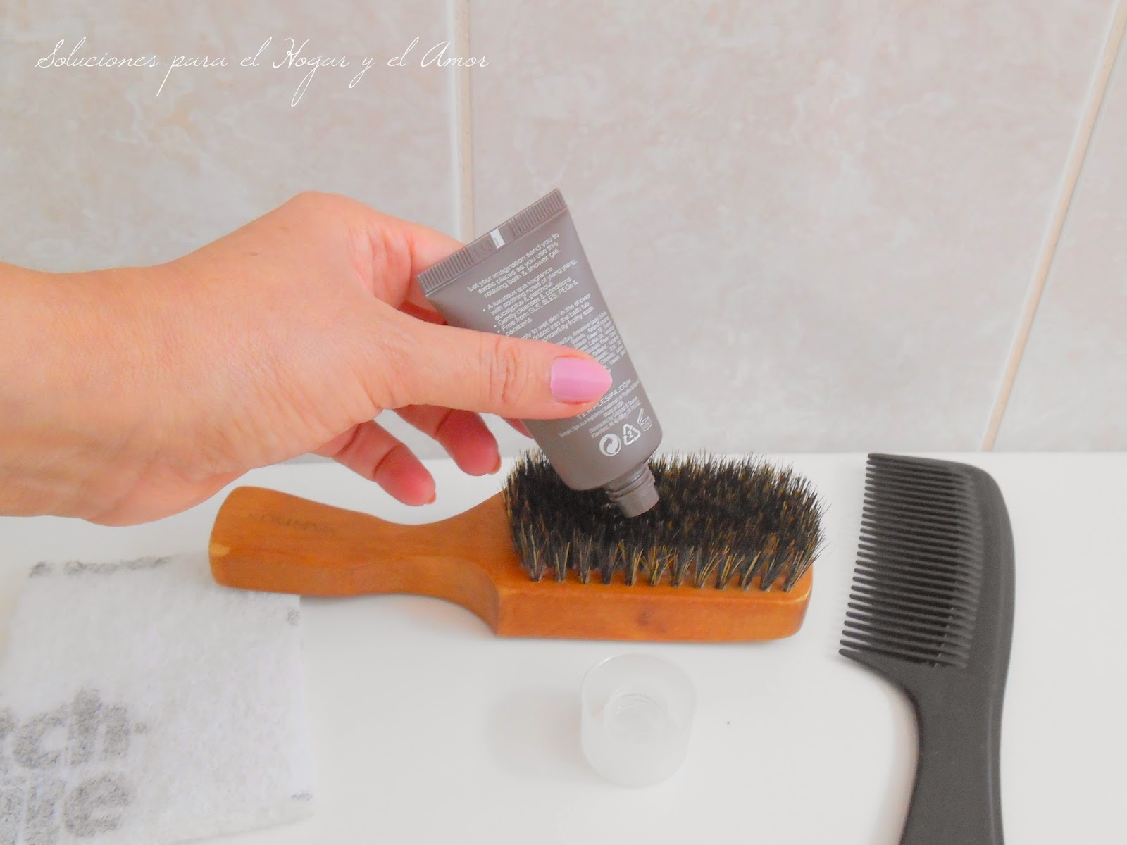 Otro uso para el Shampoo y el Gel de Baño