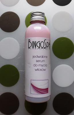 Jedwabne serum do mycia włosów BingoSpa