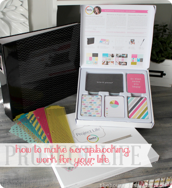 How I Make Scrapbooking Work For Me Project Life Special On Hsn