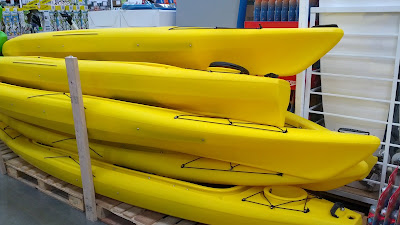 Equinox Tandem Sit In Kayak - double kayak for you and a friend